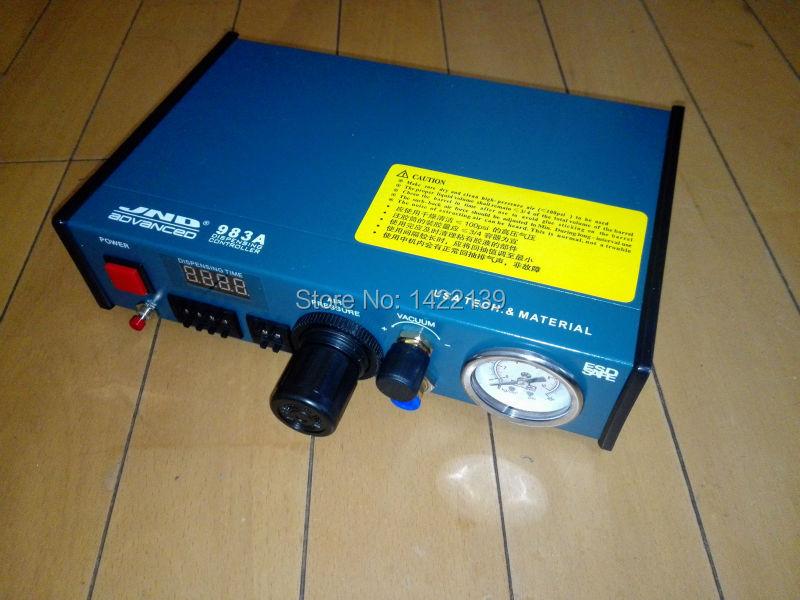 Solder Paste Glue Dropper Liquid Auto Dispenser Dispensing Controller Machine klt 982a solder paste glue dropper liquid auto dispenser controller black