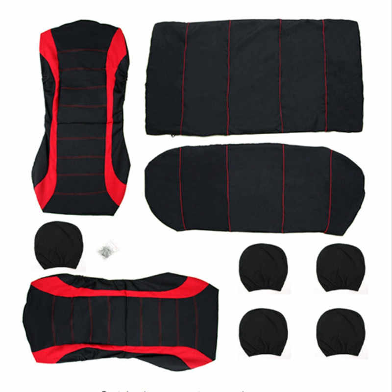 Housses de siège de voiture ensemble universel automobile protecteur de siège pour benz mercedes w110 w114 w115 w123 t123 w124 t124 w210 G C B classe E
