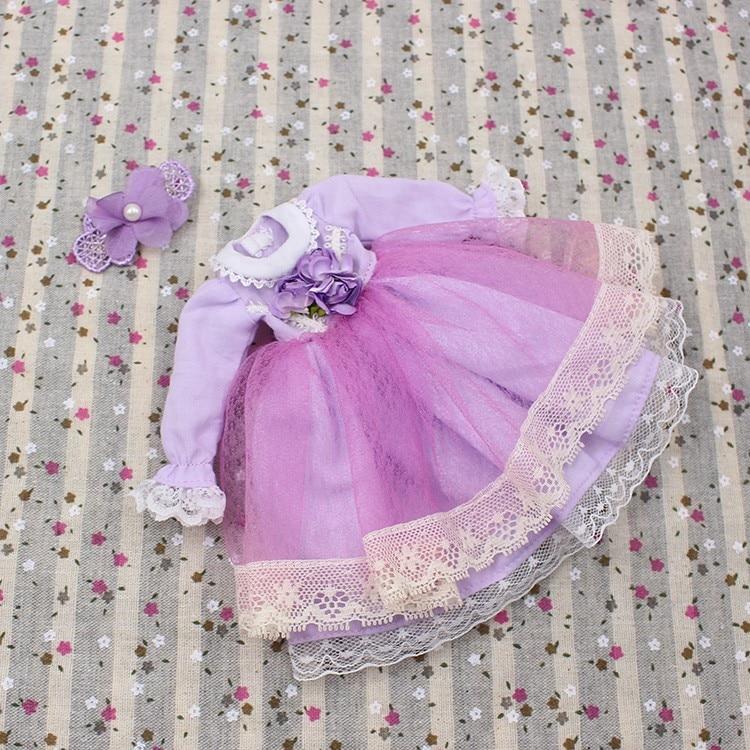 Neo Blythe Doll Lace Flower Dress 7