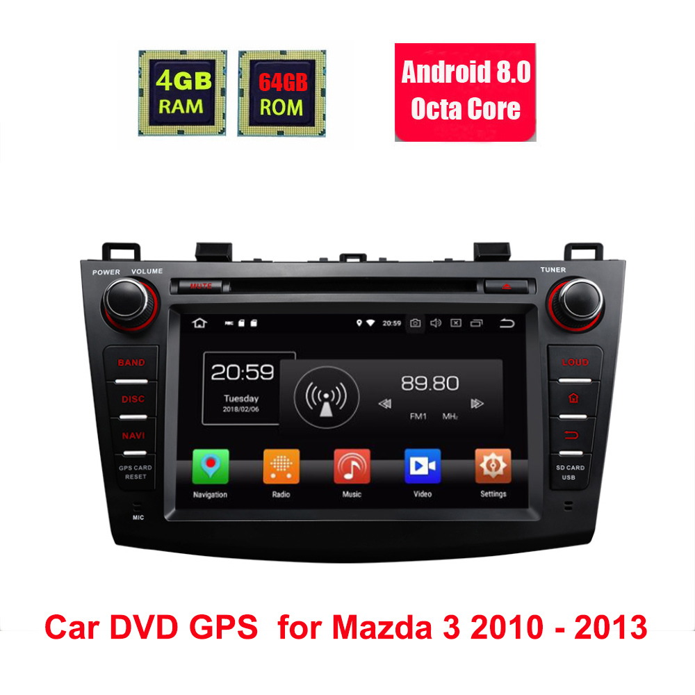 8 IPS Octa-Core Android 8.0 Oreo Car DVD Multimedia Navigation GPS Radio for Mazda 3 2010 2011 2012 2013 with Split Screen Mode8 IPS Octa-Core Android 8.0 Oreo Car DVD Multimedia Navigation GPS Radio for Mazda 3 2010 2011 2012 2013 with Split Screen Mode