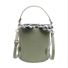 Women's Bucket Bag Bow Crossbody Bags For Women PU Leather Pouch Phone Bag Ladies Handbags And Purse Mini Chest Package transparent bucket bag and pouch bag