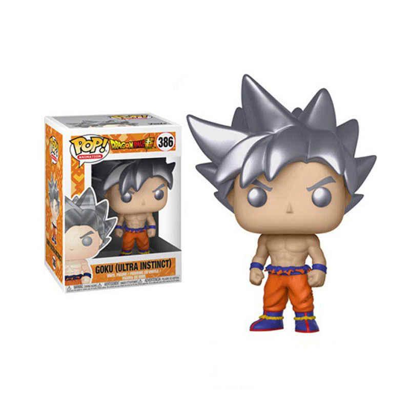 FUNKO POP Dragon Ball BADMAN VEGETA & GOKU ULTRA INSTINCT Виниловая фигурка Коллекционная модель игрушки для детей подарок на день рождения