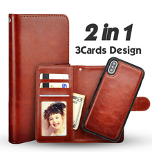 LANCASE For iPhone XS Cover Luxury PU Leather Wallet 2
