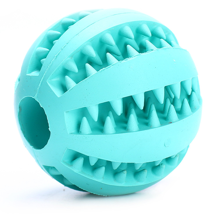 Pet Dog Toy Interactive Rubber Balls Pet Dog Cat Puppy Chew Toys Ball Teeth Chew Toys Tooth Cleaning Balls Food AA 4