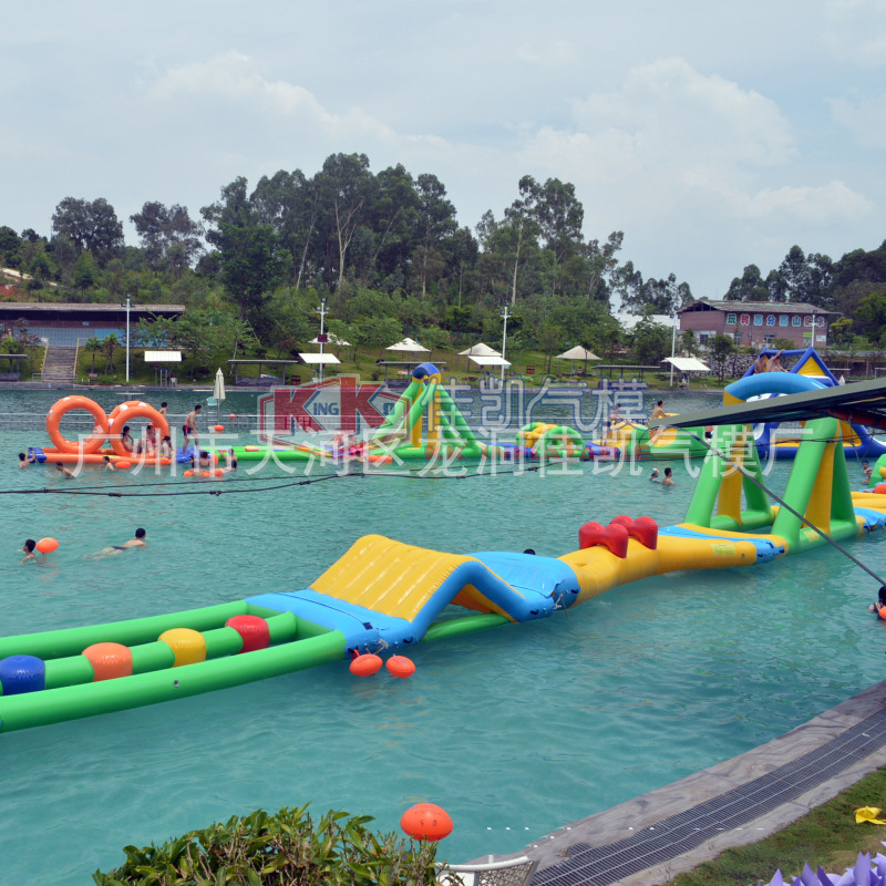 Inflatable Water Floating Channelinflatable Floating Park Water Inflatable Floating Toy