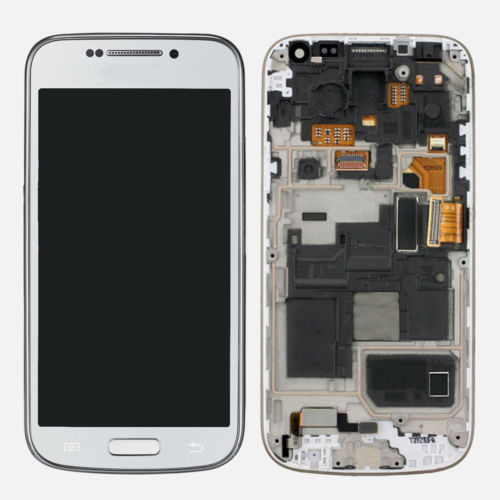 A New LCD Touch Screen Digitizer Assembly with frame For Samsung S4 Mini I9190 i9192 I9195 free shipping