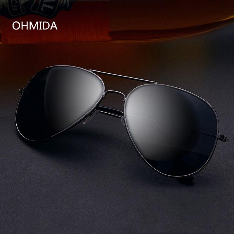 OHMIDA New Fashion Luxury Brands Sunglasses Women Men Designer Pilot Sun Glasses For Female Avaitor Oculos De Sol Gafas UV400