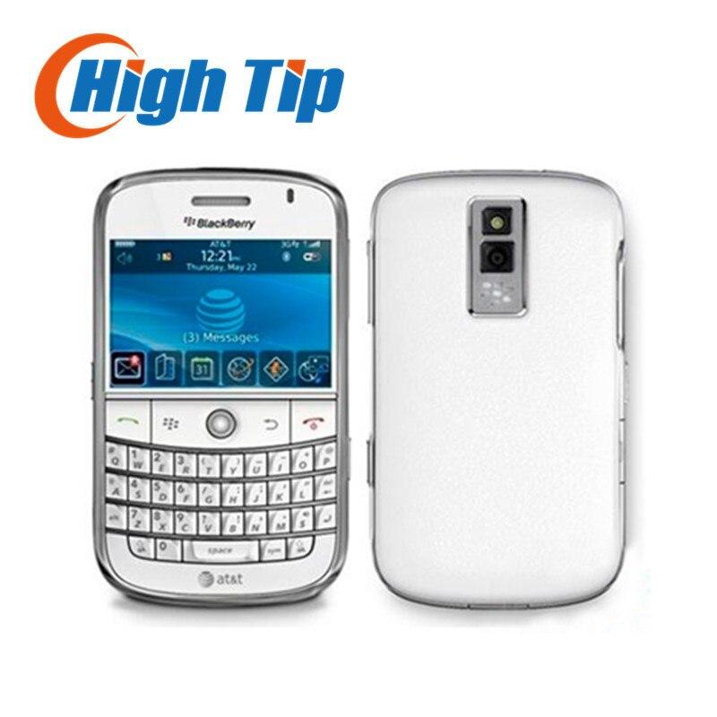 Цена за Оригинальный blackberry bold 9000 сотовый телефон 3 г gps восстановленное бесплатная доставка 1 год гарантии