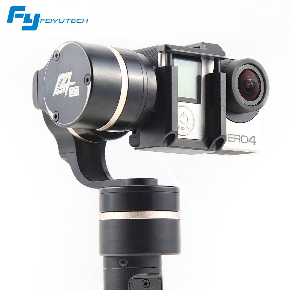 Feiyu Tech FY G4 update version for gopro 5 camera / FY-G4 QD 3 Axis gimbal for handheld gimbal feiyu G4-QD pk G5 gimbal Phone free shipping feiyu tech g4 gs gimbal 3 axis brushless gimbal for sony hdr az1vr fdr x1000v as series sport auction camera