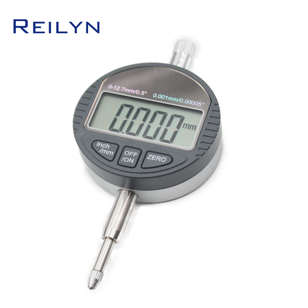Electronic Digital Micrometer Gauge 0.5 inch (0-12.7mm) LCD display 0.001mm Electronic digital dial indicator digital dial gauge 0 12 7mm 0 5 dial indicator inch mm electronic micrometer 0 01mm digital micrometro with data ouput port