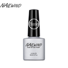 NAILWIND Primer Nail Gel Base coat Soak-Off UV Long Lasting Gel Nail Polish For UV LED Lamp Lacquer Gel Varnish 8ML(China)