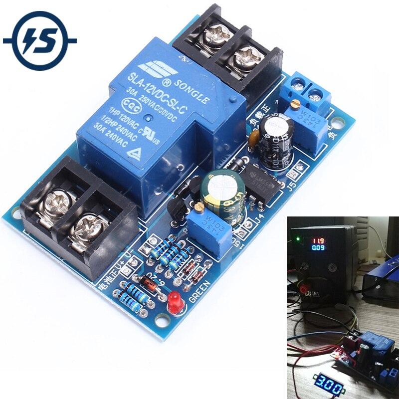 Universal 12 V Batterie Anti-Plus de Décharge Conseil Automatiquement Restaurer Basse Tension Protection Module Avec LED Voyant
