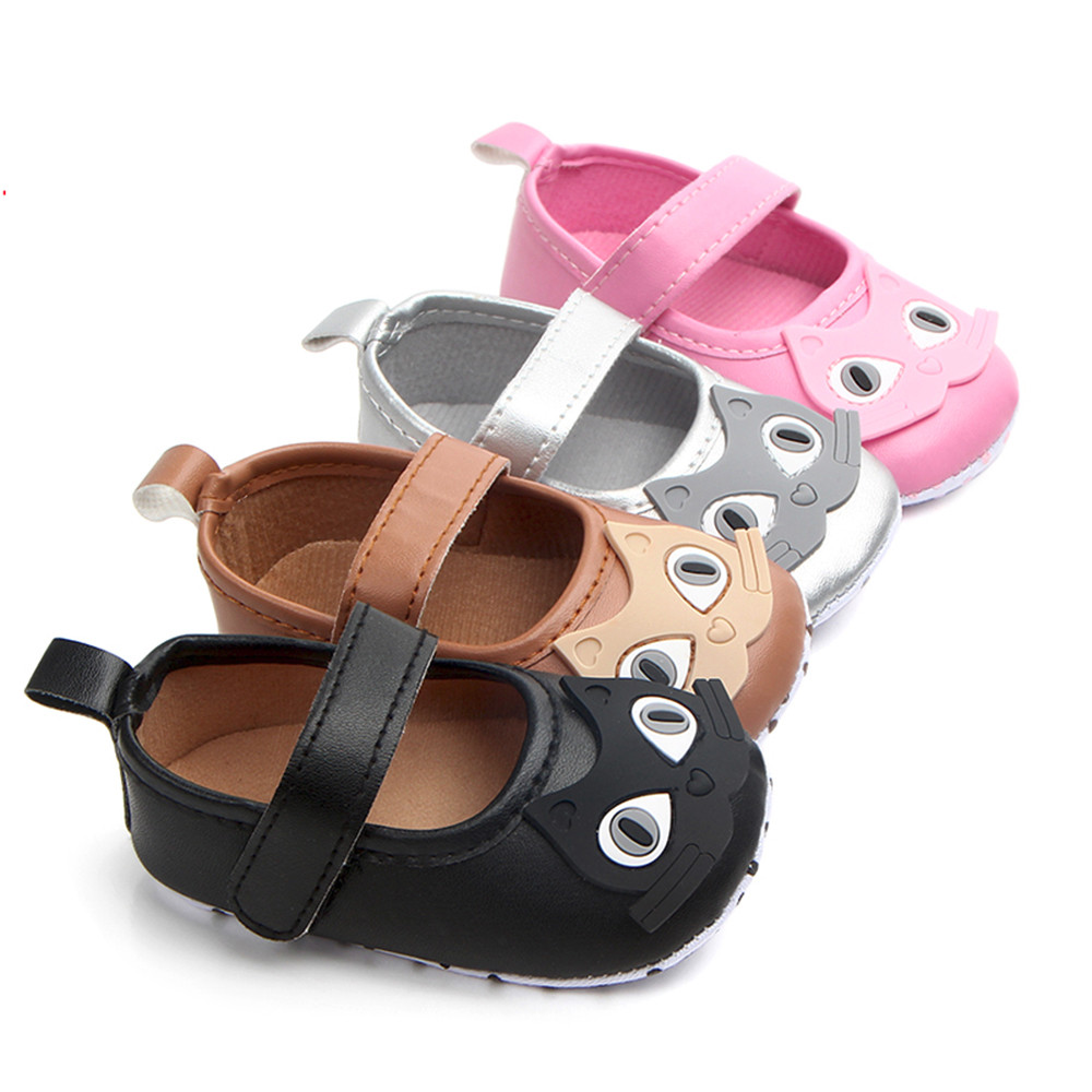 Newborn Baby Girl Cartoon Sneaker Soft Sole LAnti-slip Single Shoes First Walker Make your baby more lovely Casual Fashion