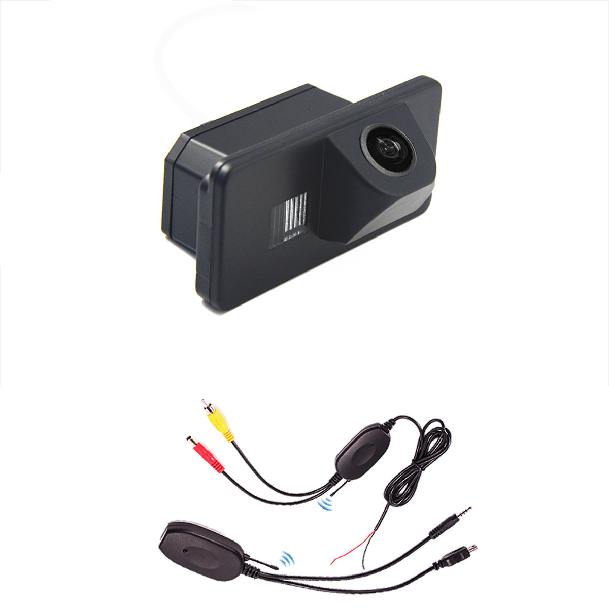 wireless car rear camera reaview reverse backup for BMW X3 X5 E81 E87 E90 E91 E60 E61 E63 E64 E70 E71 E39 paking assist