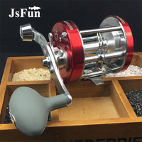 Metal Left/Right Handed Casting Fishing Reel CL30 90 Saltwater Baitcasting Reel Coil Cast Drum Wheel YL12