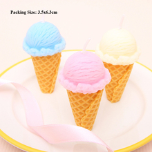 smokeless candles cake decorating supplies candle children birthday party decorations kids girl ice cream
