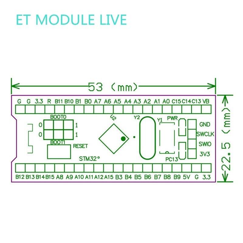 Details about STM32F103C8T6 ARM STM32 Minimum System Development Board  Module for arduino DIY