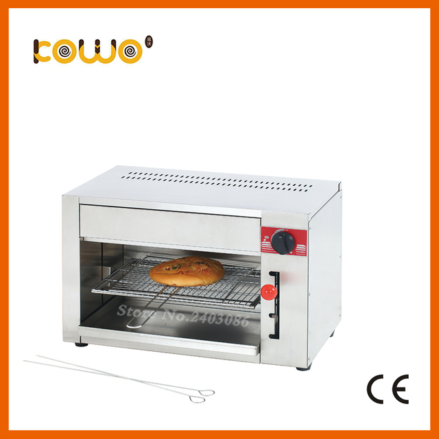 kitchen salamander craftsman cabinets ce stainless steel gas toaster 1 burner grill machine oven food processors