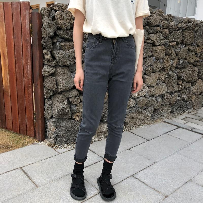Lápiz Borla Pantalón Con Cintura Vaqueros Tobillo Alta Slim Vintage 1p0079 Pantalones Longitud 1p0080 Cremallera 1p0080 De Mujer 1p0079 xBqwAz8U