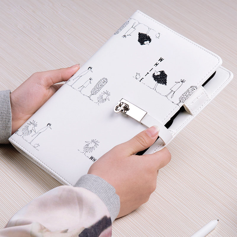 2019 A5 A6 Notebook Kreatív kézi könyvek laza a naplófüzetből, - Jegyzettömbök és füzetek - Fénykép 4