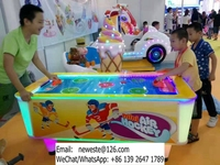 Kids Indoor Playground Device Amusement Park Arcade Game Machines Coin Operated Air Hockey Table