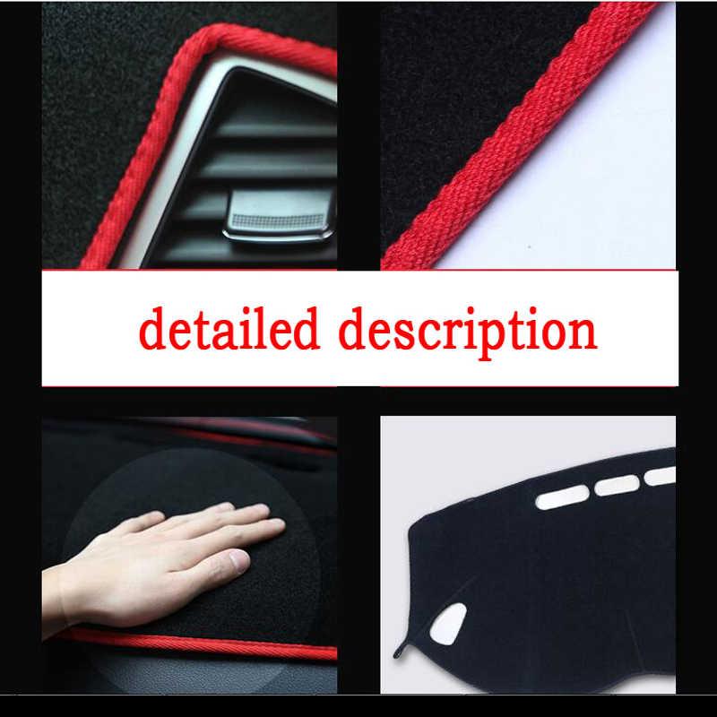 RKAC غطاء لوحة سيارة حصيرة لتويوتا جديد برادو عالية التكوين 2010-2014 اليد اليمنى محرك داشمات الوسادة داش حصيرة الملحقات