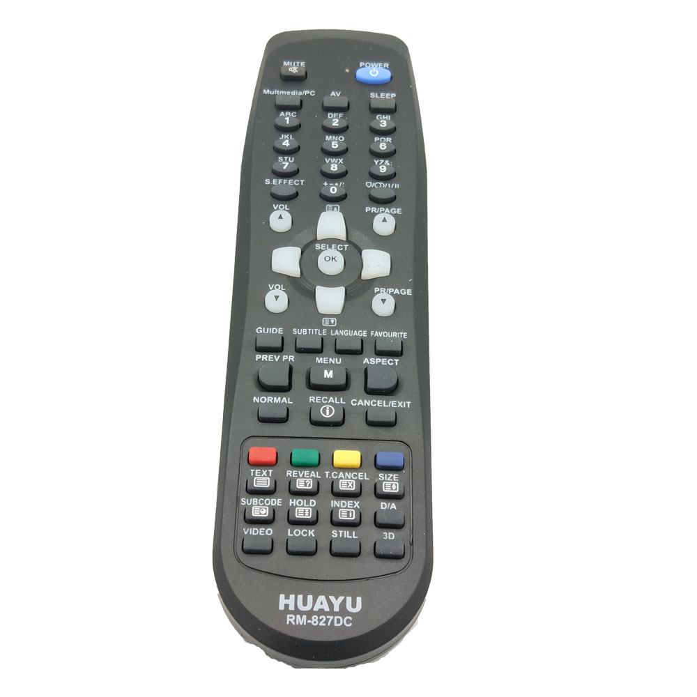 RM 827DC REMOTE CONTROL for Daewoo LED LCD TV By HUAYU Factory