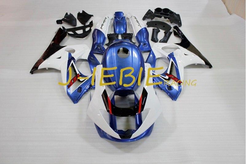 Blue white Injection Fairing Body Work Frame Kit for Yamaha YZF600R YZF600 R Thundercat 1997-2007