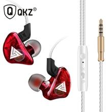 В ухо наушник qkz CK5 стерео Запуск спортивные наушники с шумоподавлением HiFi Fone де ouvido гарнитура Auriculares audifonos
