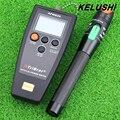 2 em 1 kit de ferramentas de fibra FTTH KELUSHI Frete Grátis APM-820 fibra medidor de potência óptica com 30 mW localizador visual de falhas tester