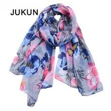 2018 Newest summer neck scarf Women Fashion Euro Design Classical Brand Luxury Printed Long Silk Scarves Big Shawl Soft Foulard