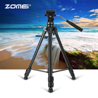 ZoMei VT111 Anti Skid Wearable Professional Photography Tripod For Micro SLR Camera Phone Tripod With Adjustable Height Legs