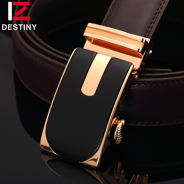 DESTINY brand genuine leather belt