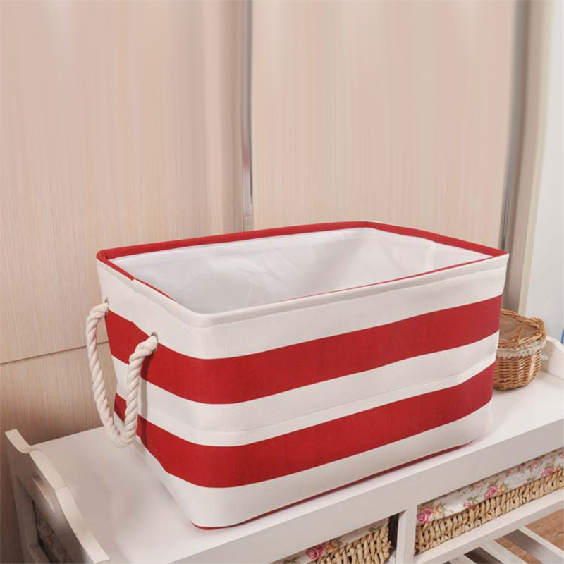 TTLIFE Navy Style Clothes Sorting Box Large Capacity Kids Bins Organizer Bag Laundry Toy Storage Basket Pouch Folding Bags