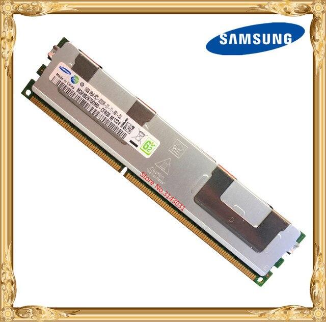 Samsung Серверная память DDR3 16 ГБ 32 ГБ 1066 МГц ECC REG регистр DIMM PC3-8500R ram 240pin 8500 16G 4Rx4