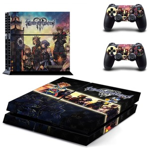 Image 2 - Game Kingdom Hearts 3 PS4 Skin Sticker Decal for Sony PlayStation 4 Console and 2 Controller Skin PS4 Sticker Vinyl