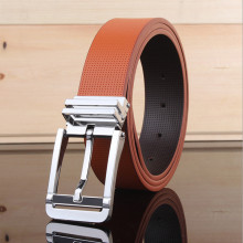 2016 Fashion Designer Belts Men High Quality Man Belt Brand Leather small hole Square Big buckle trending style Jeans Belt homme