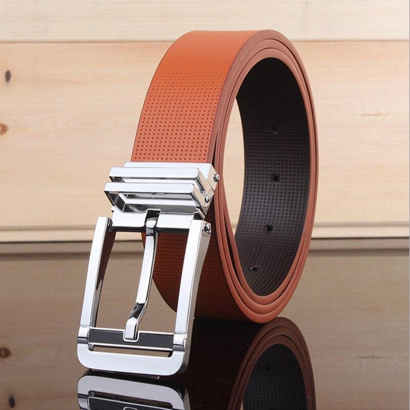 DAOKFPO New Designer 2017 Ceinture Homme Luxury Men Leather Belt Fashion Cowskin Genuine Belt for Men
