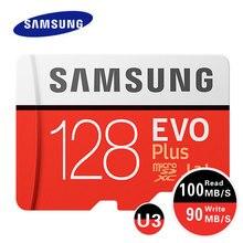 SAMSUNG EVO Plus Microsd Card 32GB 64GB 128GB 256GB 100Mb/s C10 Memory Card Micro SD Card Flash TF Card SDHC SDXC