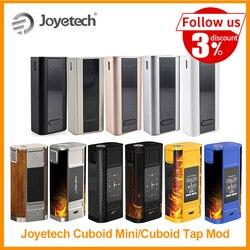 [RU/EUA/ES] Original Joyetech 80 Cubóide Mini Vape Mod Construído em 2400mAh Da Bateria W saída VT/VW Modo Cubóide Toque Mod Por Zeus X E-Cig