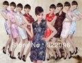 Free shipping new sale V collar Cheap cheongsam Sexy evening dress vintage cheongsam dress mandarin qipao 9 color Oriental Dress