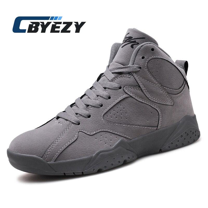 edc20a5a72356e Autumn and Winter Jordan 7 High Shoes Men s Basketball Shoes Sneakers Man  Antiskid Jordan AJ 7 Rosso Corsa Crack Flights Speed