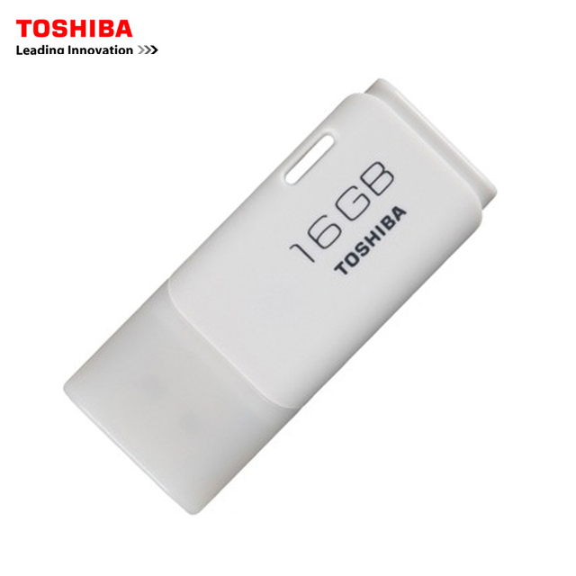 TOSHIBA USB флэш-накопитель 16 ГБ USB2.0 TransMemory USB качества флэш-накопитель USB Memory Stick 16 Г usb Pen Drive бесплатная доставка