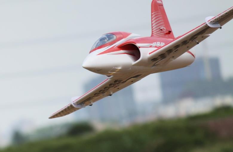 Electric Rc Plane Stinger 90 Mm Metal Edf Airplane Model