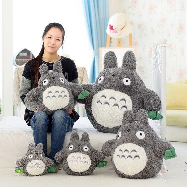 NEELUCKY 22 cm-65 cm Kreative Cartoon Knödel Totoro Plüschtiere Puppen Spielzeug für Kinder