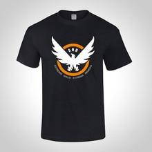 Tom Clancy's Разделение Агент Футболка Хлопок Короткий SHD Т Рубашка