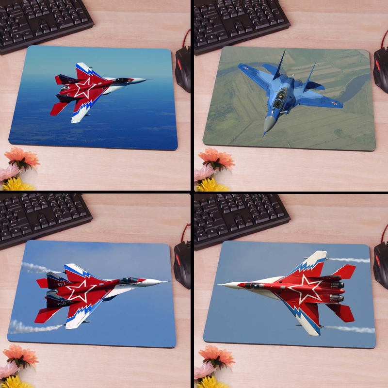 MaiYaCa Mig 29 Fighter 2 Silicon Anti-slip Mouse Mats Computer Laptop Notbook Gaming Mouse Mat