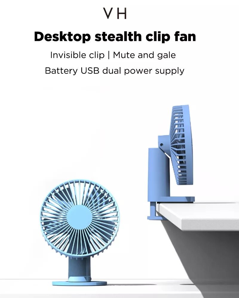 Xiaomi Mi VH F04 Clip Stand Table Desktop USB Fan 4
