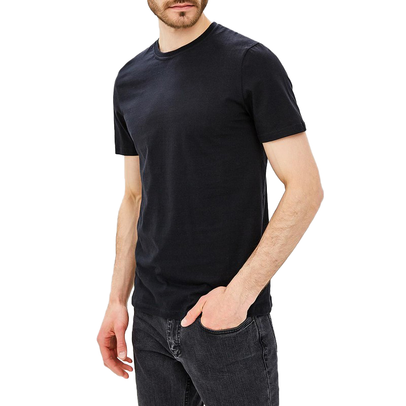 T-Shirts MODIS M181M00000 t shirt shirt cotton for male TmallFS zigzag single pocket t shirt