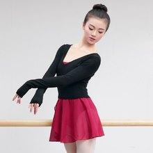Женщин V Шеи Высокая Талия Танец Балет Свитер Одежда Осень Зима Практика Одежда